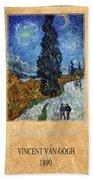 Vincent Van Gogh 4 Beach Towel