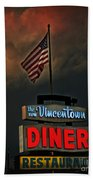 Vincentown Diner Beach Towel
