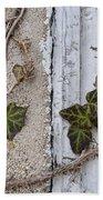 Vine On Wall Beach Towel