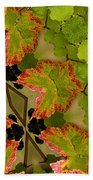 Vineyard Quilt Beach Towel