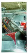 Vintage Airplane Comparison Beach Towel
