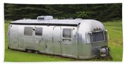 Vintage Airstream Trailer Beach Towel