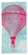 Vintage Balloon Beach Towel
