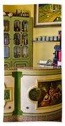 Vintage Bar - Hotel Subasio - Assisi Italy Beach Towel