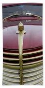 Vintage Car 5950 Beach Towel