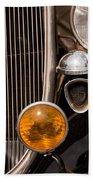 Vintage Car Details 6294 Beach Towel
