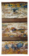 Vintage Chest Of  Drawers Beach Towel