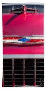Vintage Chevy Bel Air Beach Sheet