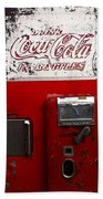 Vintage Coca Cola Beach Towel