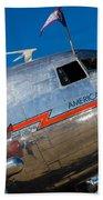 Vintage Dc-3 Airplane Beach Towel