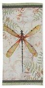 Vintage Dragonfly-jp2563 Beach Towel