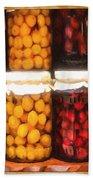 Vintage Fruit And Vegetable Preserves II Beach Towel