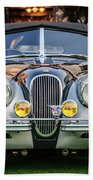 Vintage Jaguar -0924c Beach Towel