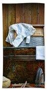 Vintage Laundry Room  Beach Towel