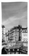 Vintage Paris 5b Beach Towel