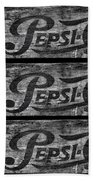 Vintage Pepsi Boxes Beach Towel
