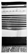 Vintage Radio Beach Sheet