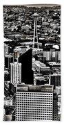 Vintage Seattle Beach Towel