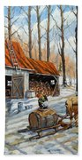 Vintage Sugar Shack By Prankearts Beach Towel