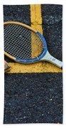 Vintage Tennis Beach Towel by Paul Ward
