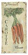 Vintage Vegetables 4 Beach Towel