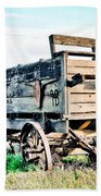 Vintaged Covered Wagon Beach Towel