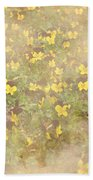 Viola Field Beach Towel