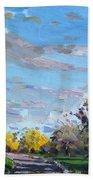 Viola Jogging Beach Towel