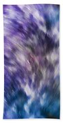 Violet Breeze Beach Towel