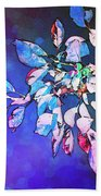 Violet Illumination Beach Towel