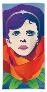 Violetta Of La Traviata Beach Towel