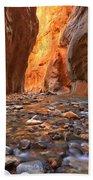 Virgin River Rocks Beach Towel