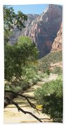Virgin River Zion Valley Beach Towel