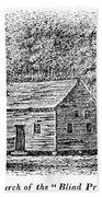 Virginia Rural Church Beach Towel