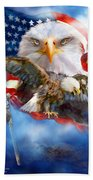 Vision Of Freedom Beach Towel