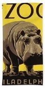 Visit The Philadelphia Zoo Beach Towel