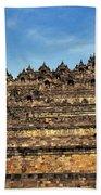 Vivid Borobudur Beach Towel