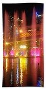 Vivid Sydney By Kaye Menner -  Vivid Aquatique  Beach Towel