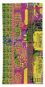 Vo96 Circuit 4 Beach Towel