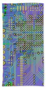 Vo96 Circuit 7 Beach Towel