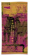 Vo96 Circuit 8 Beach Towel