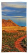 Volcano Road Beach Towel