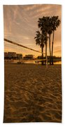 Volley Sunrise  Beach Towel