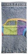Vw Beetle Beach Towel