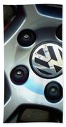 Vw Gti Wheel Beach Towel