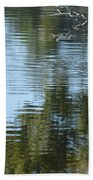 Wading Bird Beach Towel