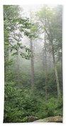 Waft Of Mist - Shenandoah Park Beach Towel