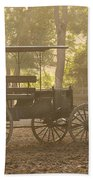 Wagon - Abe's Buggie Beach Towel by Mike Savad
