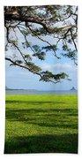 Waiahole Oahu Hawaii Beach Towel