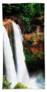 Wailua Falls Beach Towel